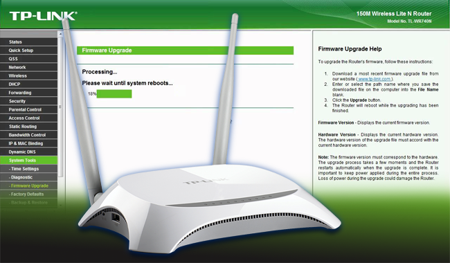 TP-Link Router Firmware Update: Why and How! - Excel