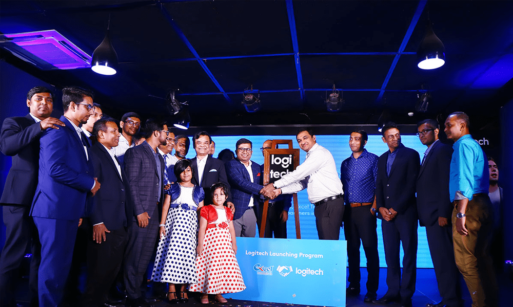 Cutting-edge products launched through Logitech-Excel partnership in Bangladesh