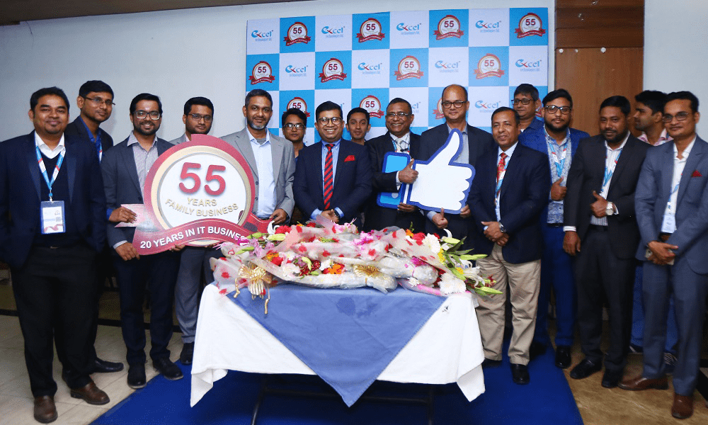 Memorable Milestone; Celebrating 55 Years of Family Business and 20 Years in IT Business