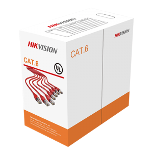 Hikvision DS-1LN6U-W/CCA 305 m CAT5E UTP Network Cable (Solid Copper, 0.5 mm, CM)